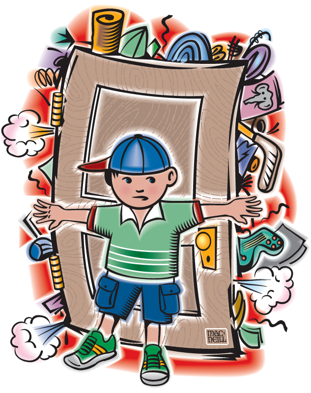 Kids cleaning room clipart - photo#48